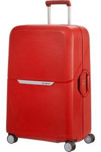 Samsonite Skořepinový cestovní kufr Magnum 104 l – červená
