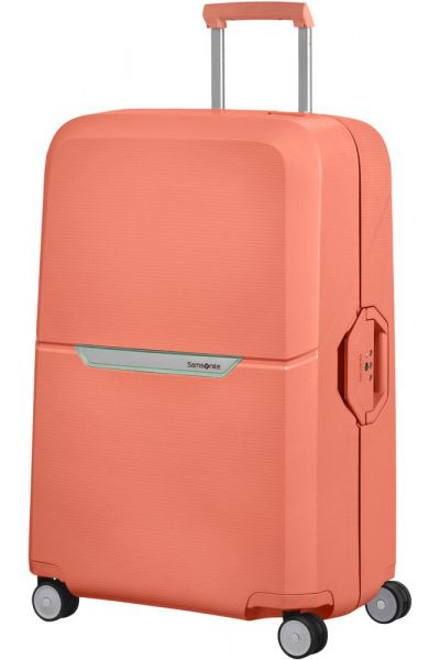 Samsonite Skořepinový cestovní kufr Magnum 104 l – korálová