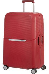 Samsonite Skořepinový cestovní kufr Magnum 104 l – rezavá červená