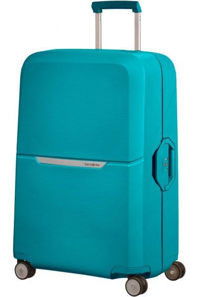 Samsonite Skořepinový cestovní kufr Magnum 104 l – tyrkys