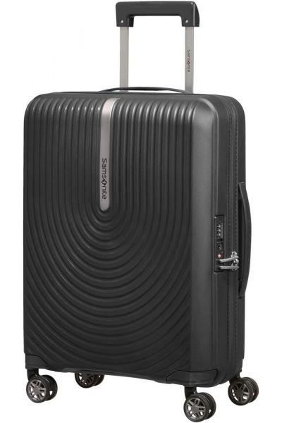 Samsonite Kabinový cestovní kufr Hi-Fi Spinner EXP 39/45 l – černá