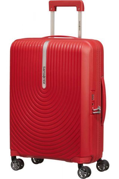 Samsonite Kabinový cestovní kufr Hi-Fi Spinner EXP 39/45 l – červená