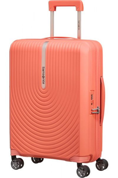 Samsonite Kabinový cestovní kufr Hi-Fi Spinner EXP 39/45 l – korálová