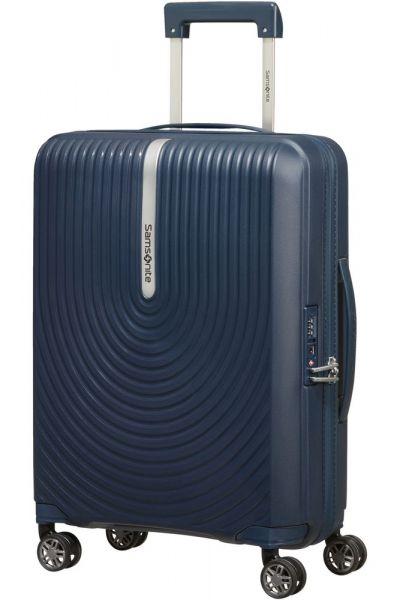 Samsonite Kabinový cestovní kufr Hi-Fi Spinner EXP 39/45 l – temně modrá