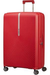 Samsonite Skořepinový cestovní kufr Hi-Fi EXP 100/110 l – červená