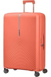 Samsonite Skořepinový cestovní kufr Hi-Fi EXP 100/110 l – korálová