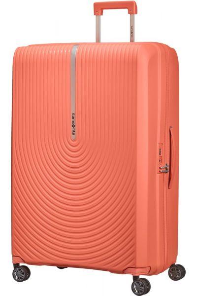 Samsonite Skořepinový cestovní kufr Hi-Fi EXP 119/131 l – korálová