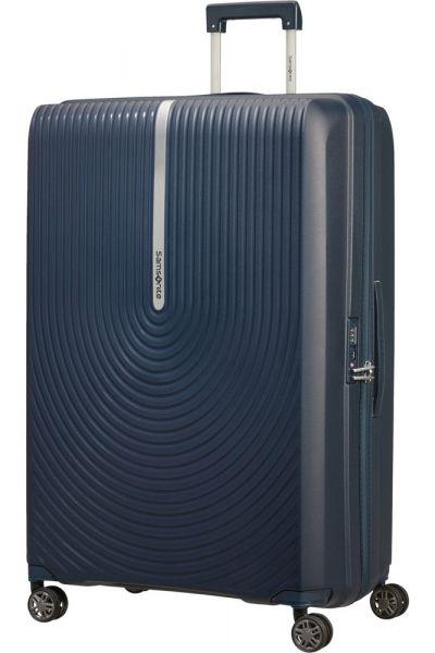 Samsonite Skořepinový cestovní kufr Hi-Fi EXP 119/131 l – temně modrá