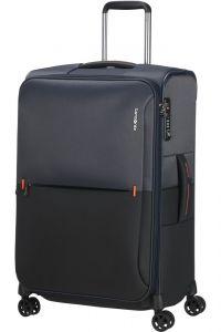 Samsonite Látkový cestovní kufr Rythum EXP 70/76 l – tmavě modrá