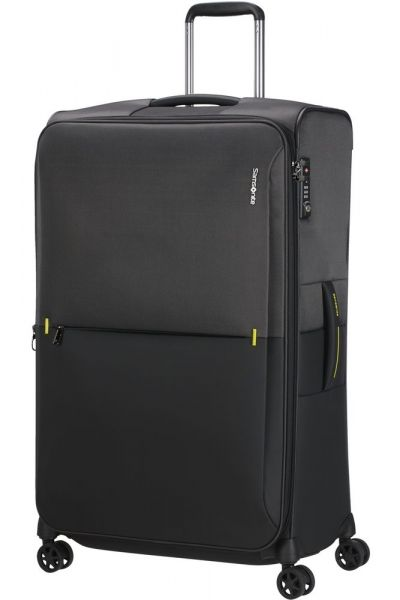 Samsonite Látkový cestovní kufr Rythum EXP 108/114 l – tmavě šedá