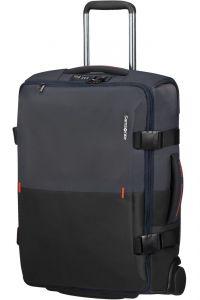 Samsonite Látková cestovní taška na kolečkách Rythum 47 l – tmavě modrá
