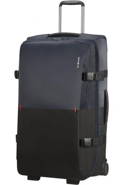Samsonite Látková cestovní taška na kolečkách Rythum 115 l – tmavě modrá