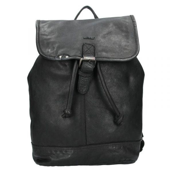 Kožený batoh Justified Ineo – černá