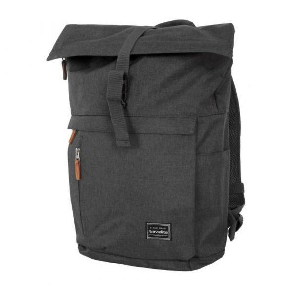 Travelite Městský batoh Basics Roll-up Anthracite 35 l
