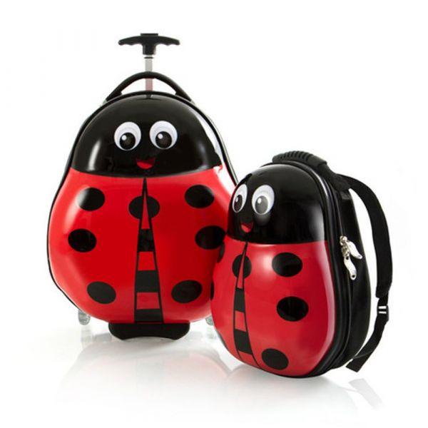 Heys Sada batohu a kabinového kufru Travel Tots Lady Bug