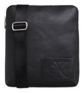 Calvin Klein černá pánská taška CKJ Pebble Micro Flat Pack