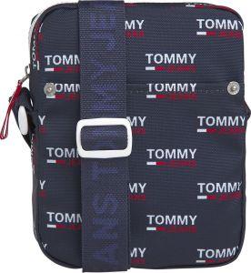Tommy Hilfiger tmavě modrá pánská taška TJM Cool City Mini Reporter PNT