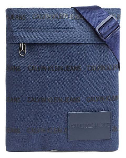 Calvin Klein tmavě modrá pánská taška SP Essential Flatpack Navy