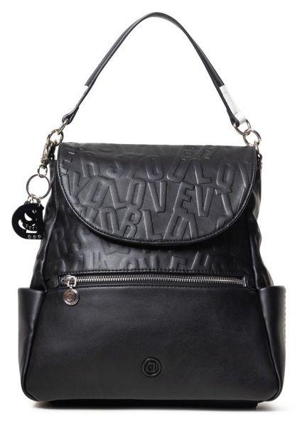 Desigual černý batoh Back Kaila New Positano