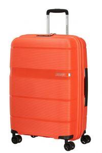American Tourister Skořepinový cestovní kufr Linex 63 l – oranžová
