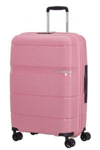 American Tourister Skořepinový cestovní kufr Linex 63 l – růžová