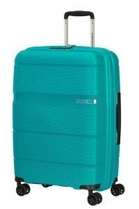 American Tourister Skořepinový cestovní kufr Linex 63 l – tyrkysová
