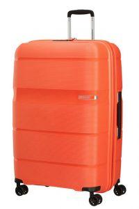 American Tourister Skořepinový cestovní kufr Linex 102 l – oranžová