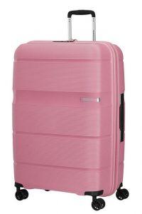 American Tourister Skořepinový cestovní kufr Linex 102 l – růžová