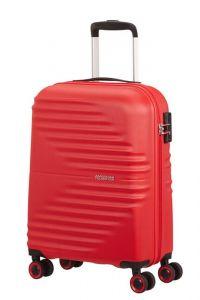 American Tourister Kabinový cestovní kufr Wavetwister 33 l – červená