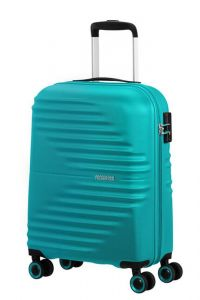 American Tourister Kabinový cestovní kufr Wavetwister 33 l – tyrkysová