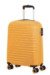 American Tourister Kabinový cestovní kufr Wavetwister 33 l – žlutá