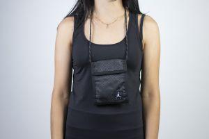 Jordan tri-fold pouch BLACK