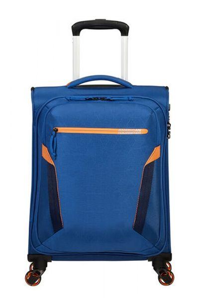 American Tourister Kabinový cestovní kufr AT Eco Spin 40 l – modrá