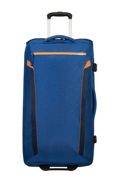 American Tourister Látková cestovní taška na kolečkách AT Eco Spin 112 l – modrá
