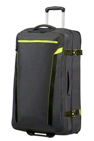 American Tourister Látková cestovní taška na kolečkách AT Eco Spin 112 l – tmavě šedá