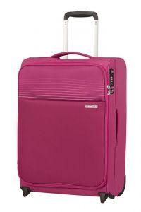 American Tourister Kabinový cestovní kufr Lite Ray Upright 43 l – růžová
