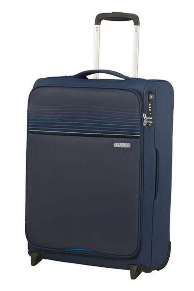 American Tourister Kabinový cestovní kufr Lite Ray Upright 43 l – tmavě modrá
