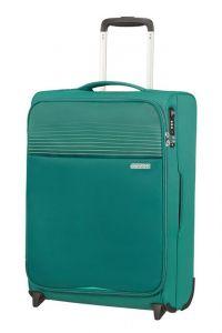 American Tourister Kabinový cestovní kufr Lite Ray Upright 43 l – zelená