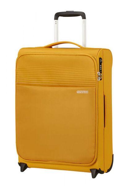 American Tourister Kabinový cestovní kufr Lite Ray Upright 43 l – žlutá