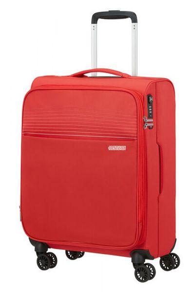 American Tourister Kabinový cestovní kufr Lite Ray 42 l – červená