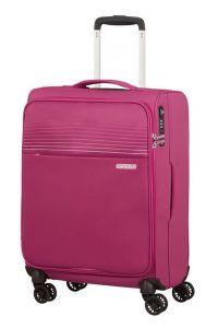 American Tourister Kabinový cestovní kufr Lite Ray 42 l – růžová