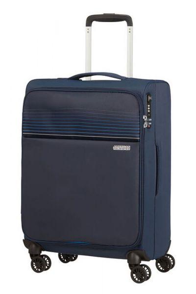 American Tourister Kabinový cestovní kufr Lite Ray 42 l – tmavě modrá