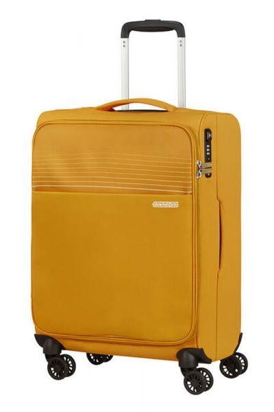 American Tourister Kabinový cestovní kufr Lite Ray 42 l – žlutá
