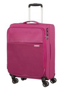 American Tourister Kabinový cestovní kufr Lite Ray EXP 43/48,5 l – růžová
