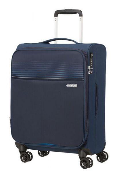 American Tourister Kabinový cestovní kufr Lite Ray EXP 43/48,5 l – tmavě modrá