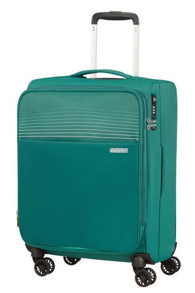 American Tourister Kabinový cestovní kufr Lite Ray EXP 43/48,5 l – zelená