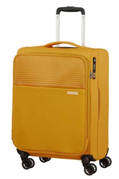 American Tourister Kabinový cestovní kufr Lite Ray EXP 43/48,5 l – žlutá