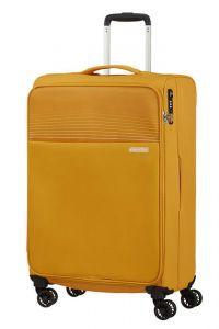 American Tourister Látkový cestovní kufr Lite Ray M 75 l – žlutá