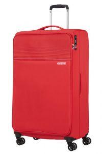 American Tourister Látkový cestovní kufr Lite Ray XL 105 l – červená