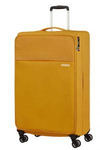 American Tourister Látkový cestovní kufr Lite Ray XL 105 l – žlutá
